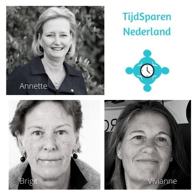 Foto bestuursleden TijdSparen Nederland