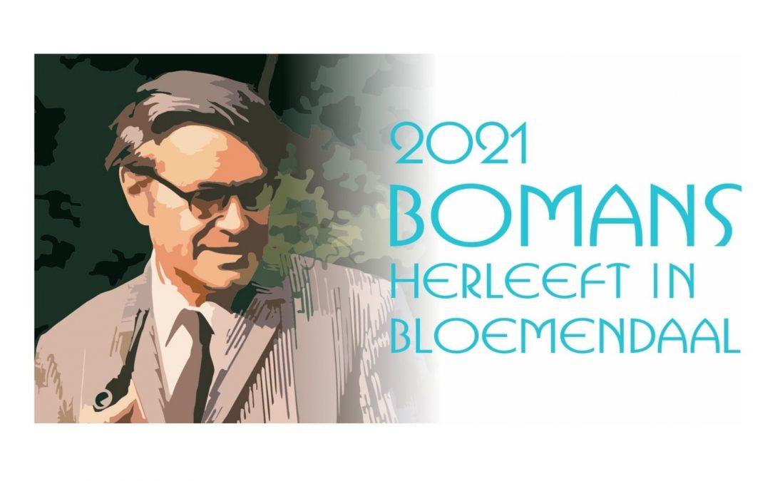 Godfried Bomans Jaar 2021 in Bloemendaal