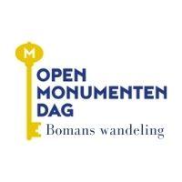 Godfried Bomans wandeling Open Monumentendag 12 september